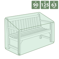 Charles Bentley Bench Cover - Green